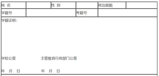 陕西2019年高考报名事项通知   网上报名时间11月15日至21日