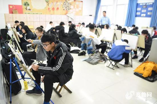 山东美术统考增速写科目 重视学生能力的培养不再是死记硬背