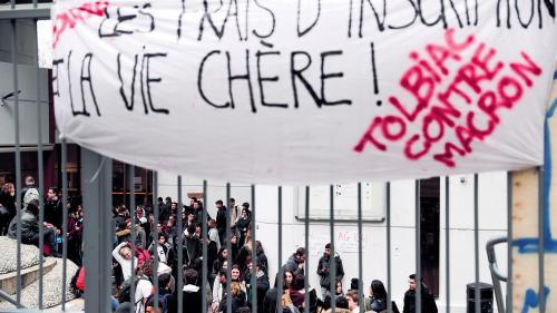 这三家法国大学拒绝上涨外国学生注册费  担心将学生拒之门外