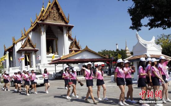 资料图:泰国首都曼谷风光。图为曼谷大城府。中新社记者 钱兴强 摄