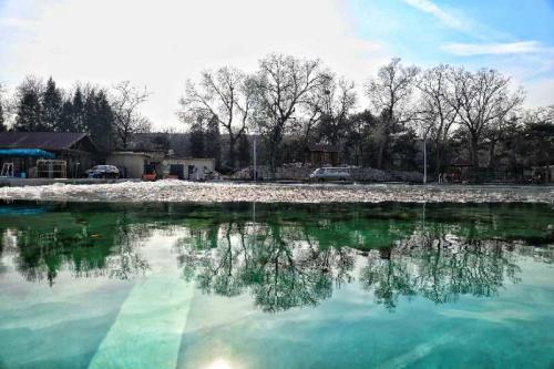 西湖游泳池今后可能迎来更多参与冬泳运动的学生。