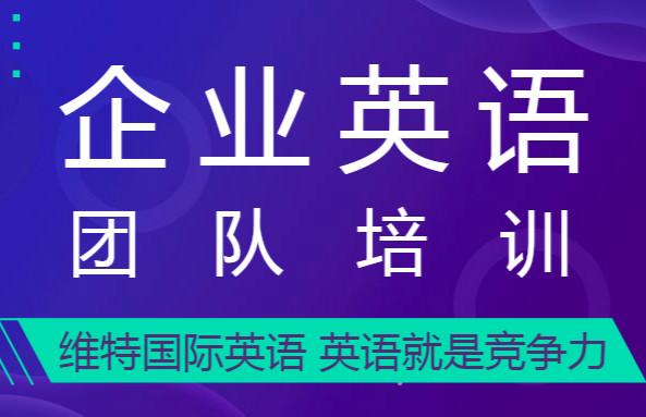 深圳宝安沙井维特国际企业英语团队培训
