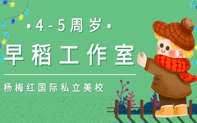 资阳达高国际杨梅红4-5岁早稻工作室美术培训