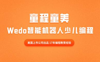 濟南英雄山童程童美Wedo智能機器人編程