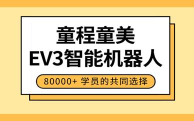 广州萝岗童程童美EV3机器人编程