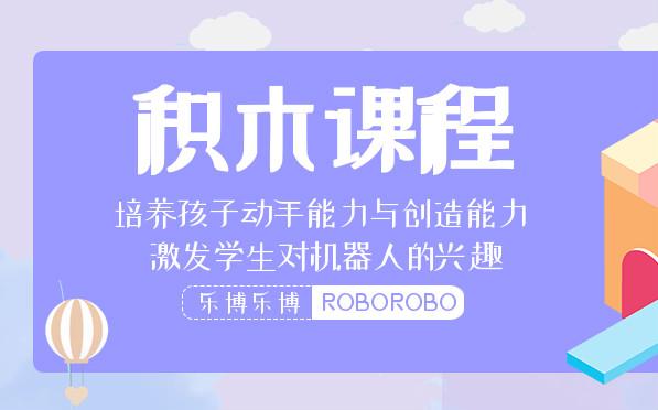 杭州滨江长河街乐博4-6岁积木少儿编程