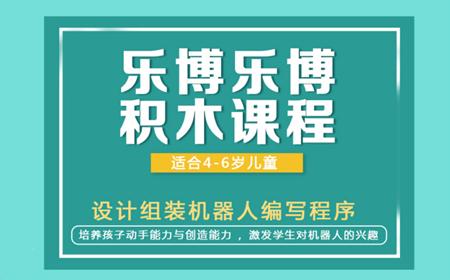 北京丰台乐博乐博积木机器人少儿编程课程