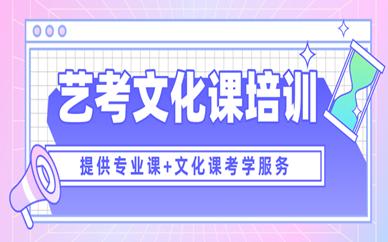 杭州萧山秦学艺考文化课辅导