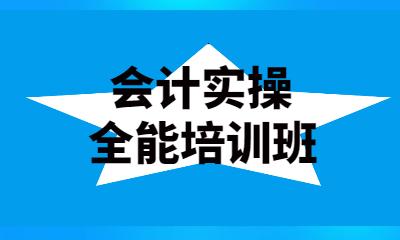 重庆渝北会计实操全能课程